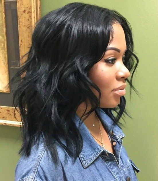50 Best Eye Catching Long Hairstyles for Black Women 3