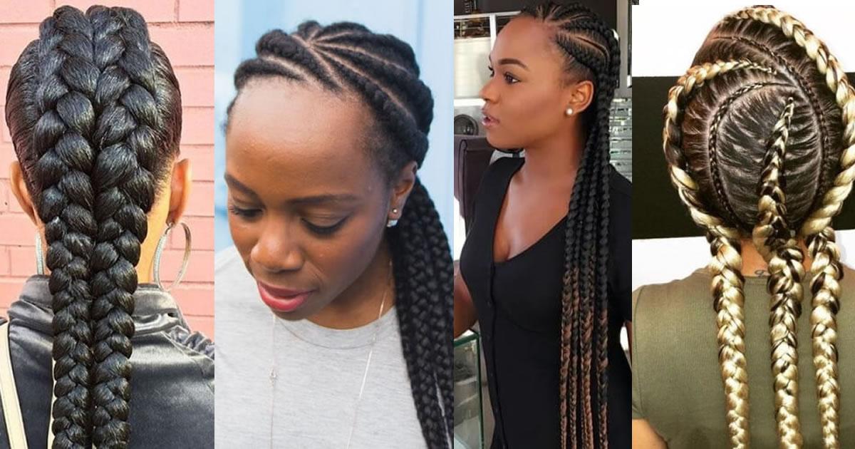 50 Best Ghana Braids Hairstyles