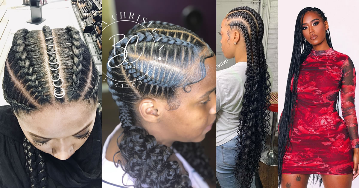 50 Stunningly Cute Ghana Braids Styles For 2021