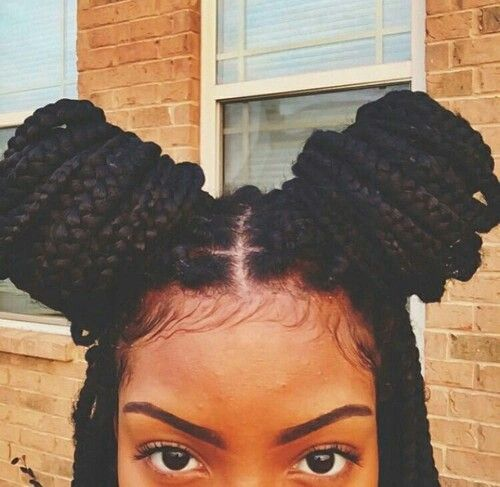51 double updo box braids