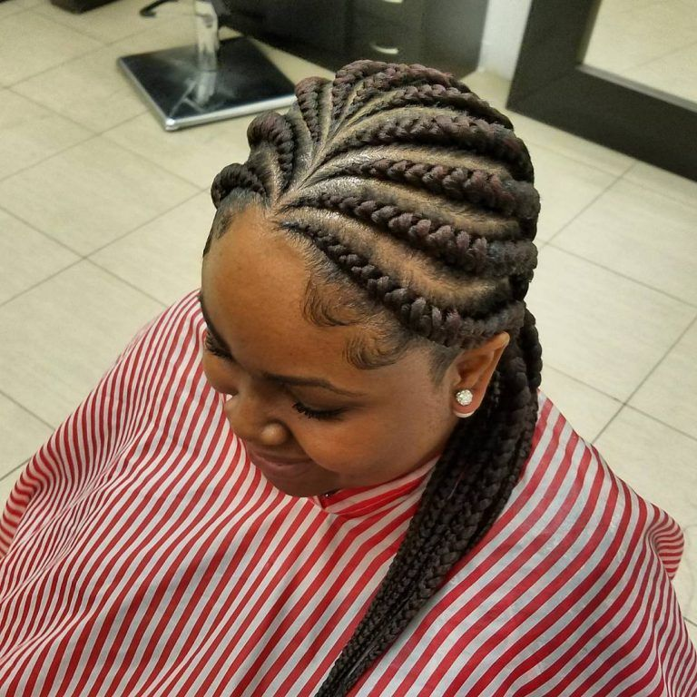 55 Gorgeous Hairstyles for Ghana Braids — Look Beautiful and Live Like a Queen