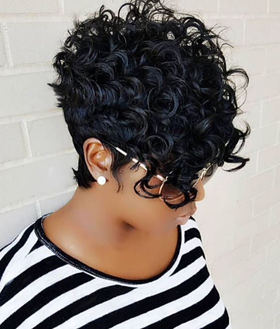 8 African American curly