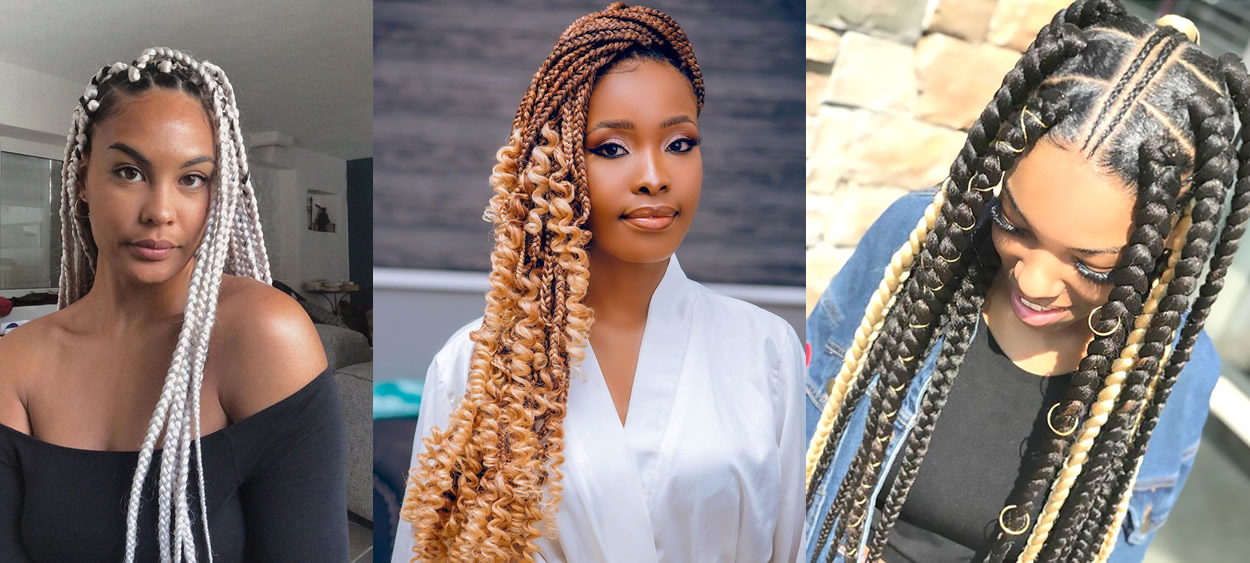 20 Hairstyle Photos from African Braids to Inspire You !