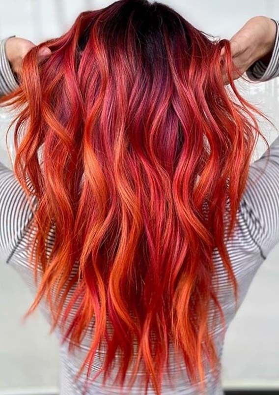 Best PulpRiot Red Hair Color Shades for Long Locks in 2020