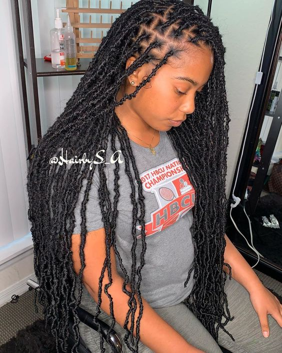 Black Crochet Braided Hairstyles For Black Women To Pick