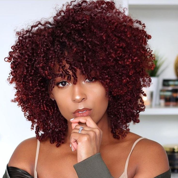 Brown Natural Hair Black Women