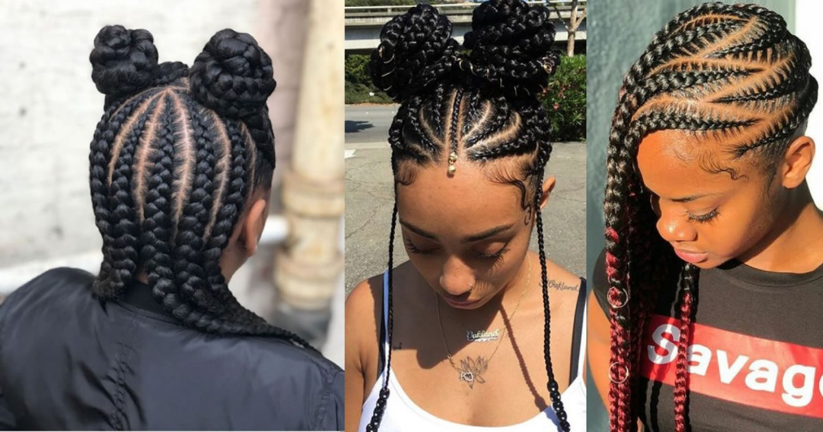 Catchy Cornrow Braids Hairstyles Ideas to Try