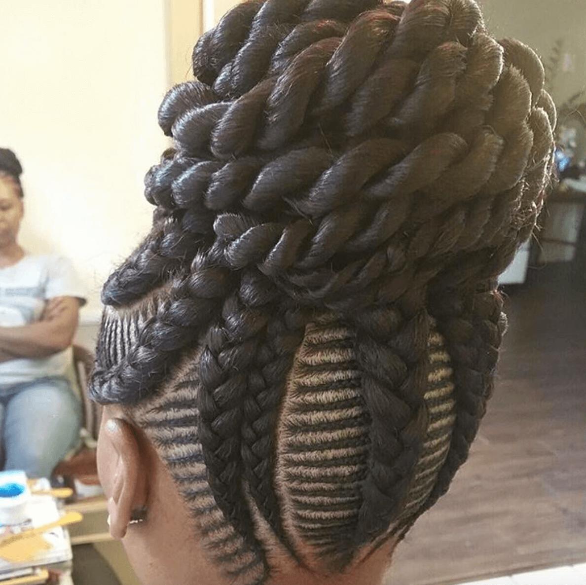 Cornrows Ghana and Senegalese Braids