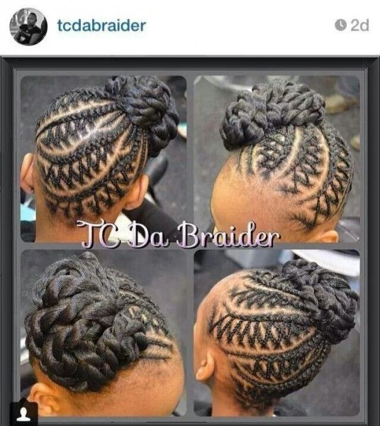 Creative Braided Updo @tcdabraider