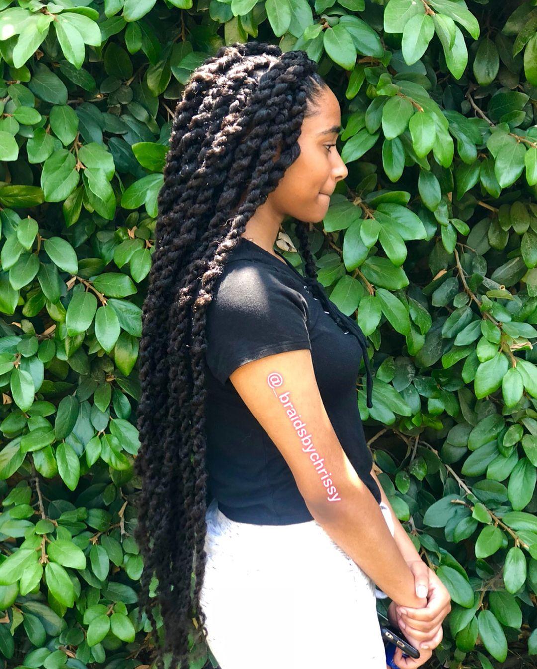 Ghana Braids Hair Style hairstyleforblackwomen.net 129