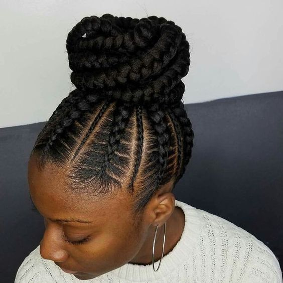 Ghana Braids Hair Style hairstyleforblackwomen.net 168