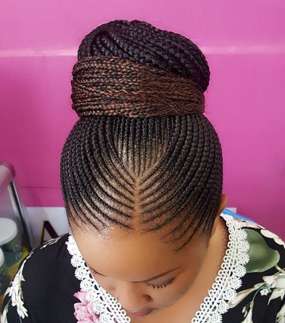 Ghana Braids Hair Style hairstyleforblackwomen.net 4