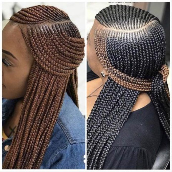 Ghana Weaving Hairstyles  Beautiful African Braids Hair Ideas For Ladies OD9jastyles