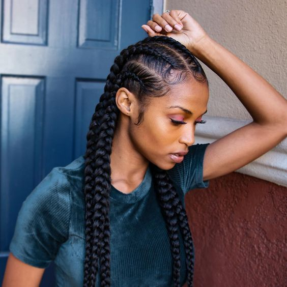 Goddess Braids Ideas hairstyleforblackwomen.net 12