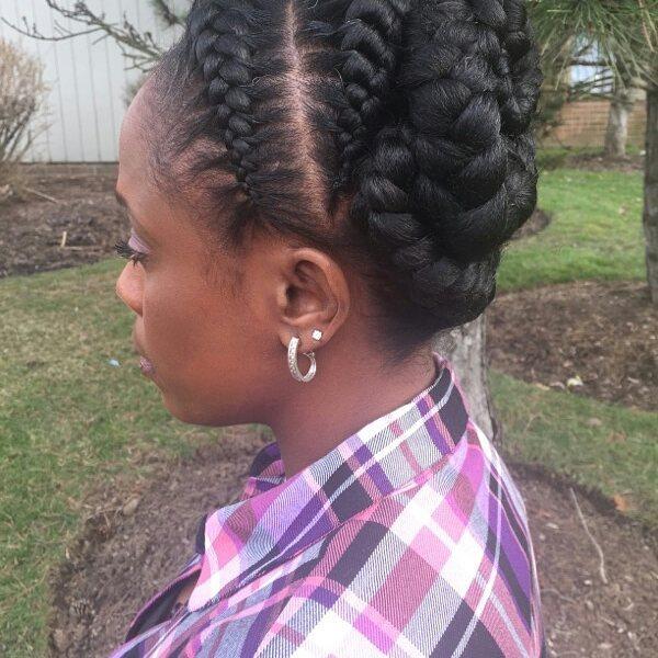 Goddess Braids Ideas hairstyleforblackwomen.net 24