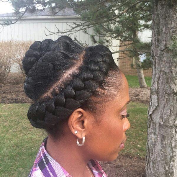 Goddess Braids Ideas hairstyleforblackwomen.net 29
