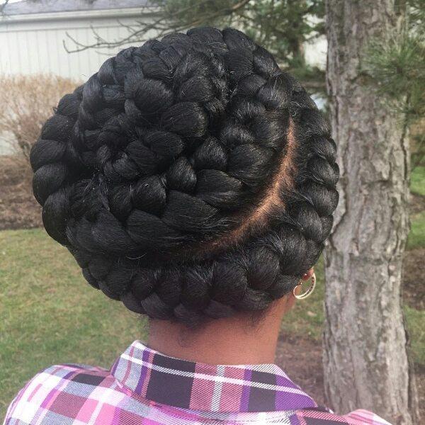 Goddess Braids Ideas hairstyleforblackwomen.net 31