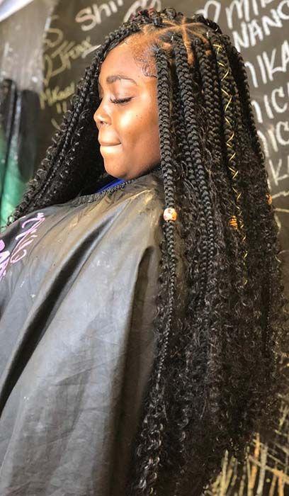 Goddess Braids Ideas hairstyleforblackwomen.net 9