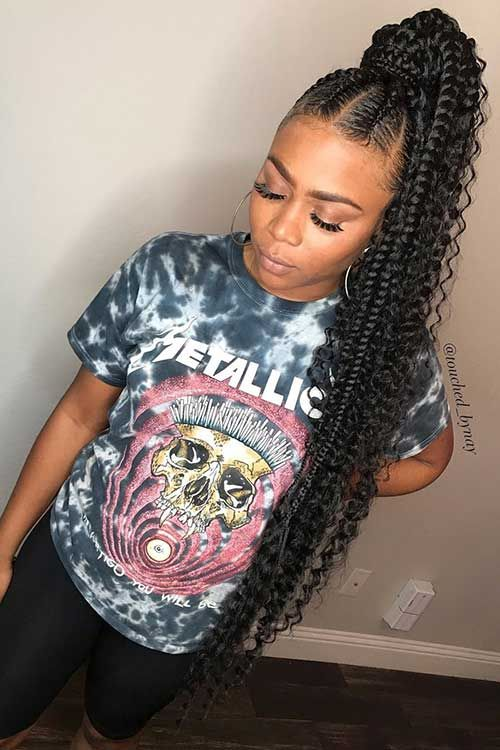 Gorgeous and Intricate Ghana Braids That You Will Love hairstyleforblackwomen.net 13