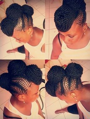 Gorgeous and Intricate Ghana Braids That You Will Love hairstyleforblackwomen.net 16