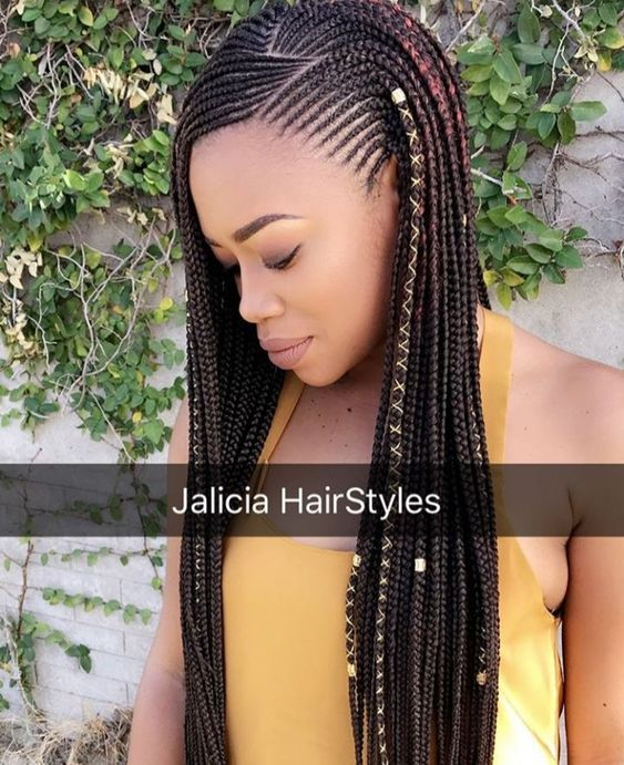 Gorgeous and Intricate Ghana Braids That You Will Love hairstyleforblackwomen.net 37