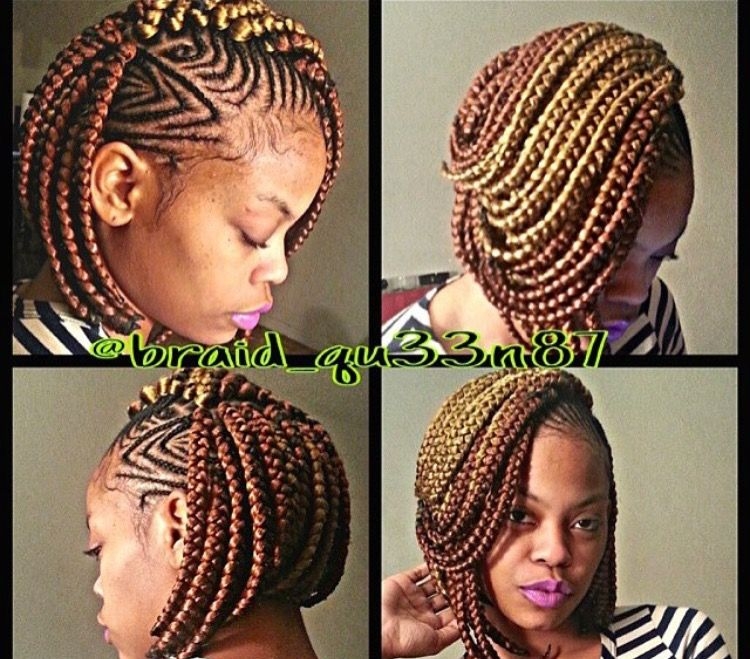 Gorgeous and Intricate Ghana Braids That You Will Love hairstyleforblackwomen.net 42