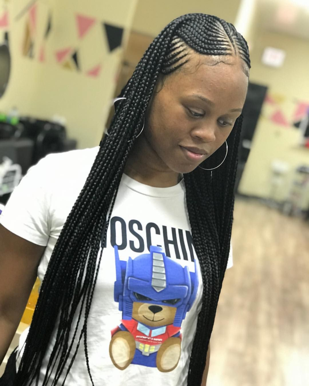 Gorgeous and Intricate Ghana Braids That You Will Love hairstyleforblackwomen.net 45