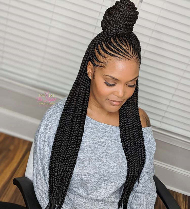 Gorgeous and Intricate Ghana Braids That You Will Love hairstyleforblackwomen.net 48