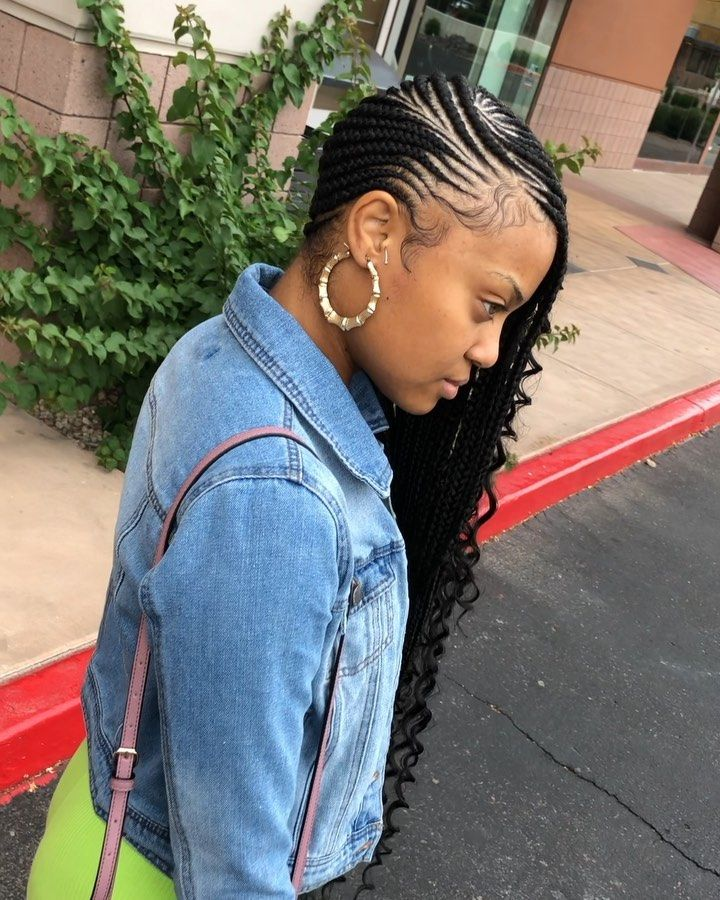 Gorgeous and Intricate Ghana Braids That You Will Love hairstyleforblackwomen.net 50