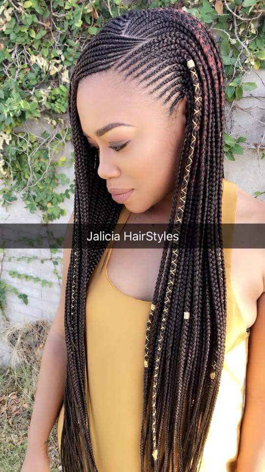 Gorgeous and Intricate Ghana Braids That You Will Love hairstyleforblackwomen.net 59