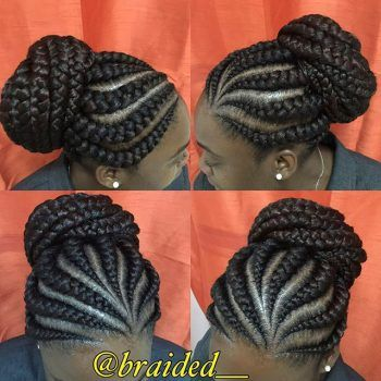 Gorgeous and Intricate Ghana Braids That You Will Love hairstyleforblackwomen.net 69