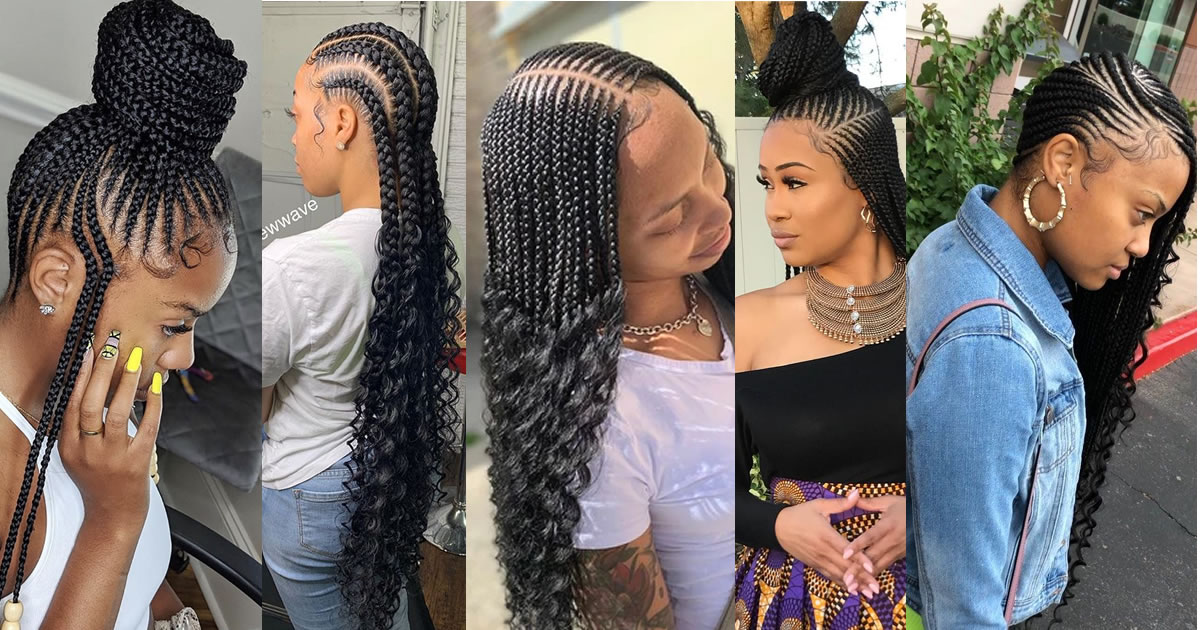Gorgeous and Intricate Ghana Braids That You Will Love hairstyleforblackwomen.net 71