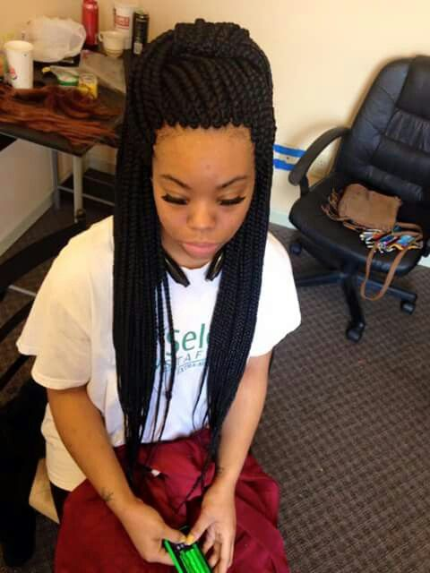 Gorgeous and Intricate Ghana Braids That You Will Love hairstyleforblackwomen.net 74