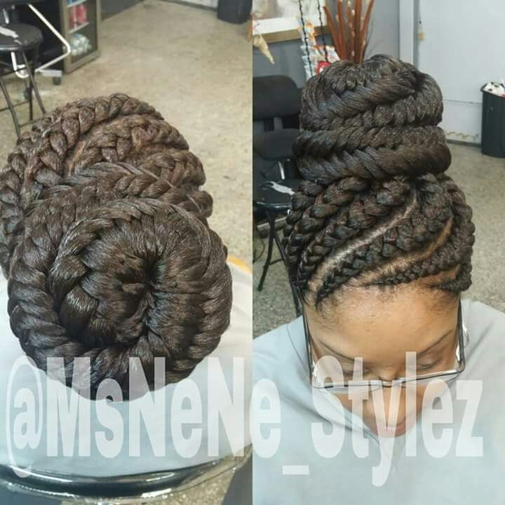 Gorgeous and Intricate Ghana Braids That You Will Love hairstyleforblackwomen.net 77