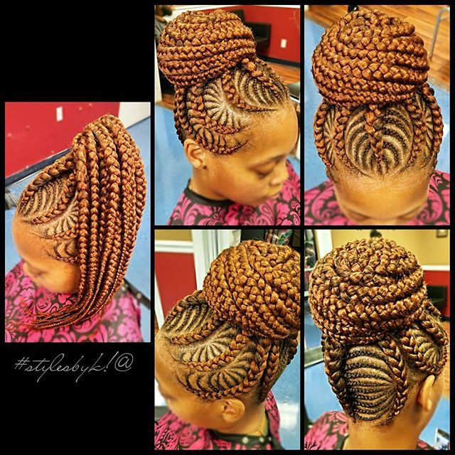 Gorgeous and Intricate Ghana Braids That You Will Love hairstyleforblackwomen.net 82