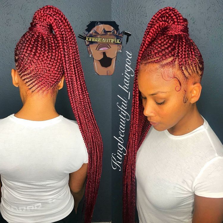 Gorgeous and Intricate Ghana Braids That You Will Love hairstyleforblackwomen.net 9