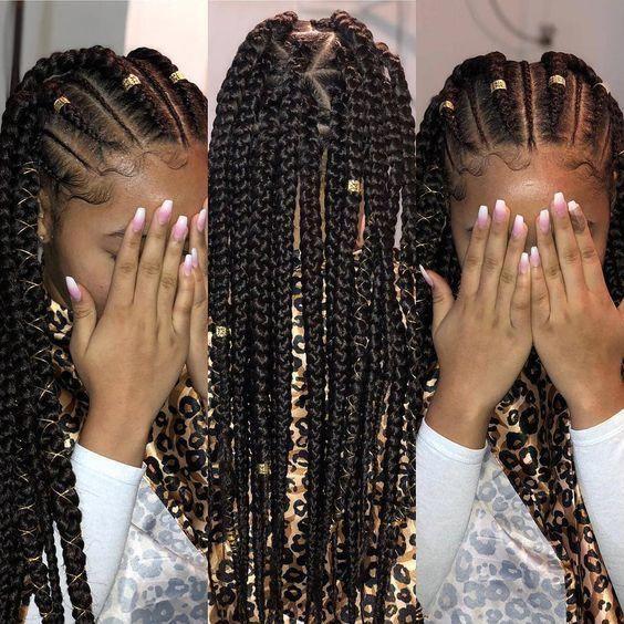 How To Create Ghana Cornrow Braids For Beginners hairstyleforblackwomen.net 11