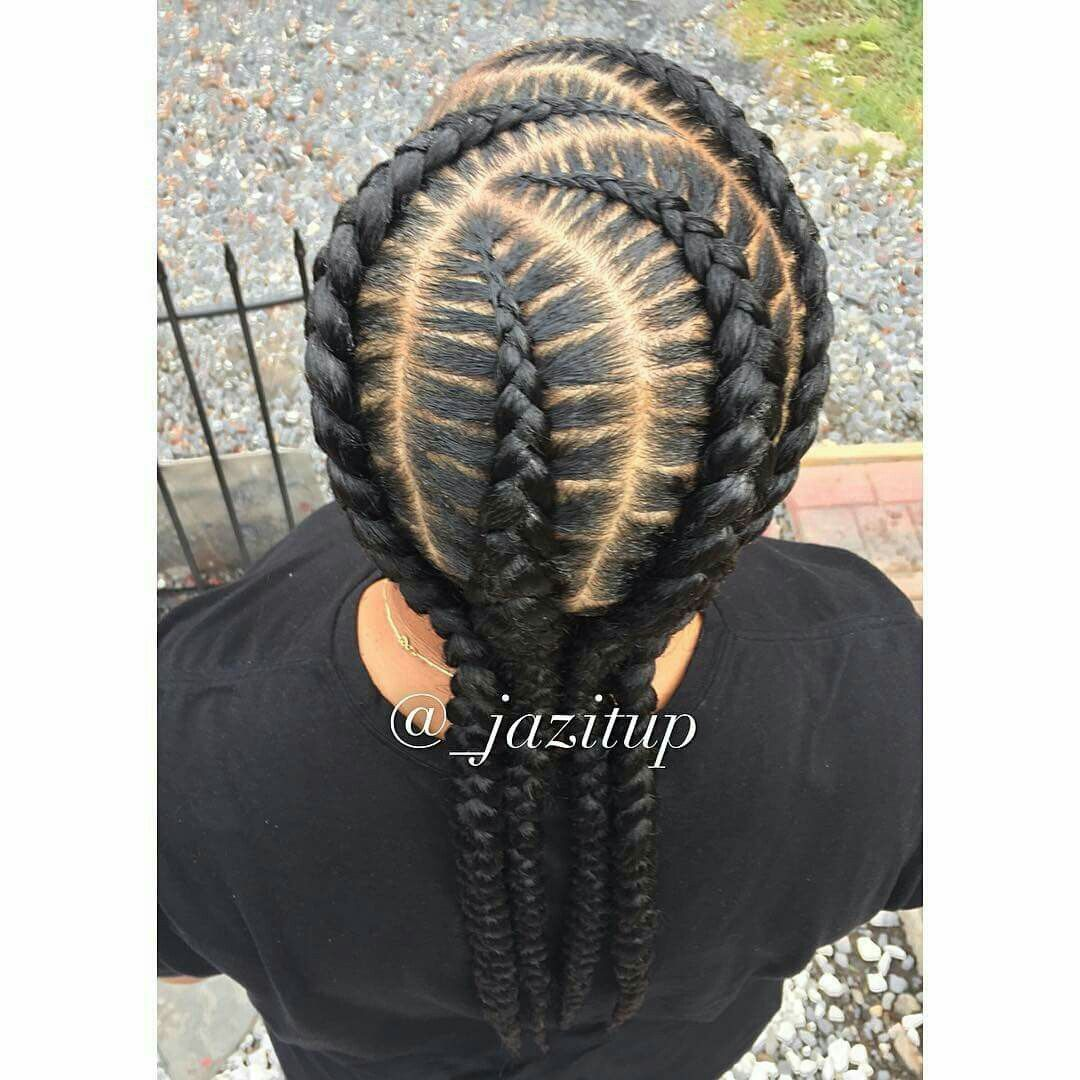 How To Create Ghana Cornrow Braids For Beginners hairstyleforblackwomen.net 2