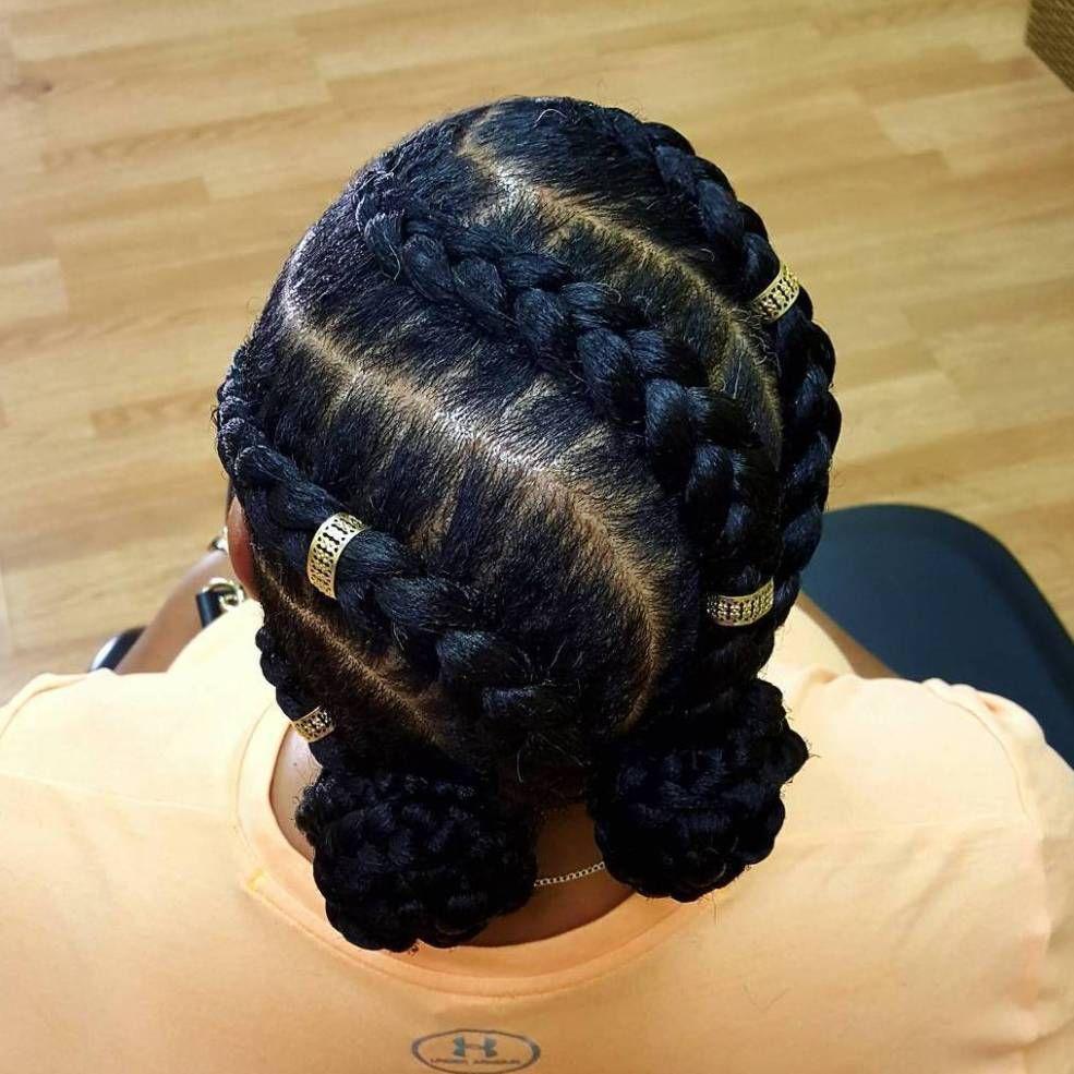 How To Create Ghana Cornrow Braids For Beginners hairstyleforblackwomen.net 3