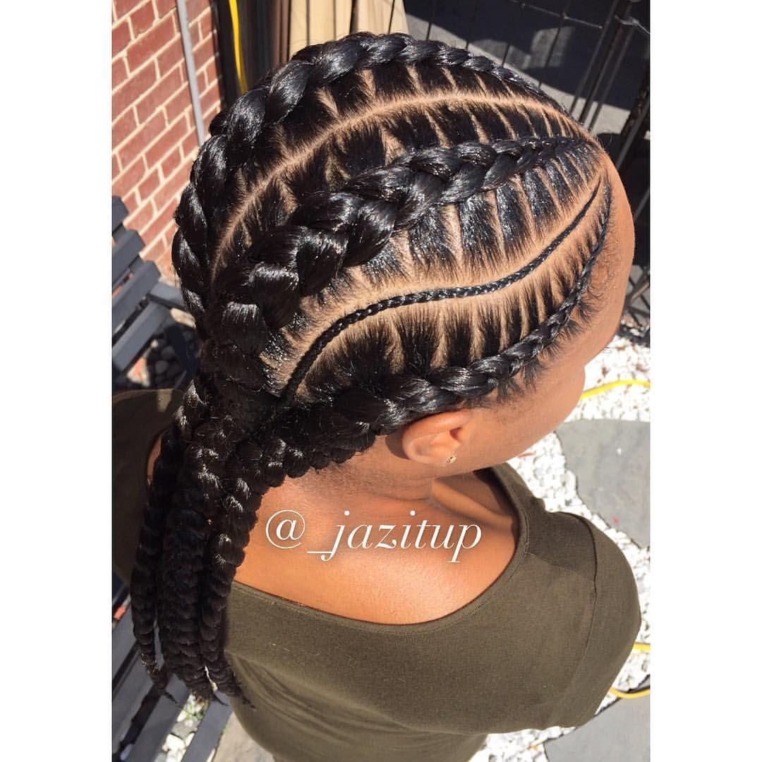 How To Create Ghana Cornrow Braids For Beginners hairstyleforblackwomen.net 37