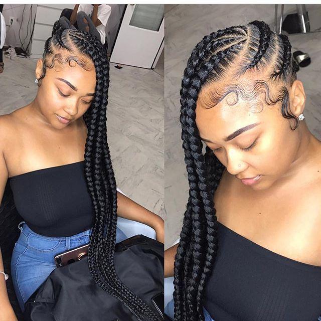 How To Create Ghana Cornrow Braids For Beginners hairstyleforblackwomen.net 43