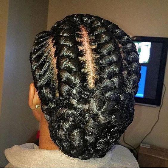 How To Create Ghana Cornrow Braids For Beginners hairstyleforblackwomen.net 61