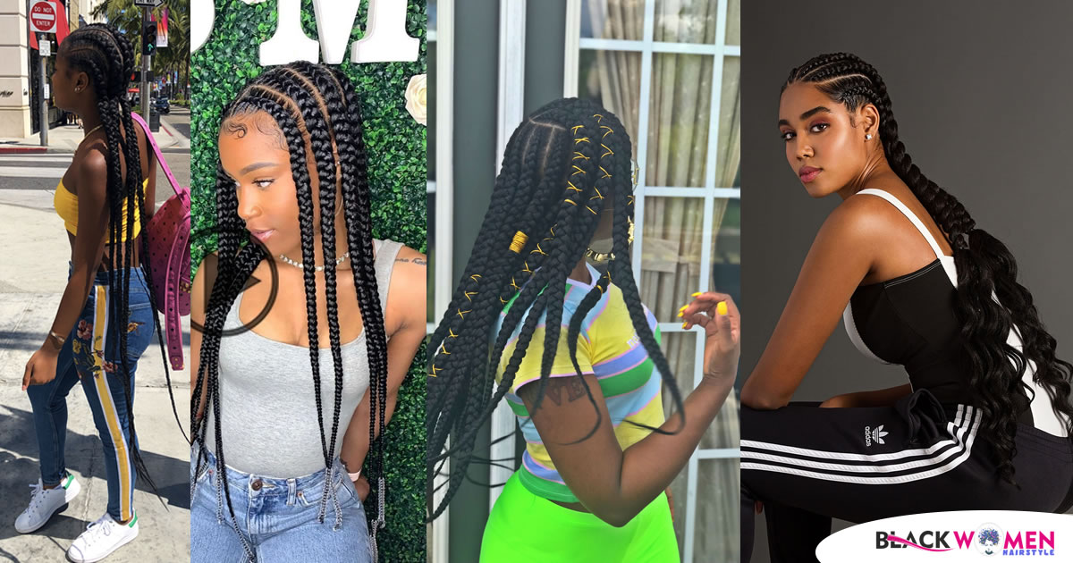 If You Like Sports Dressing, 100 Ghana Hair Braids Are Right For You