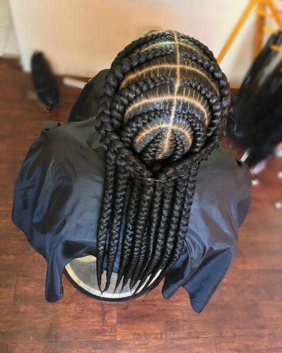 Latest Ghana Weaving hairstyleforblackwomen.net 448