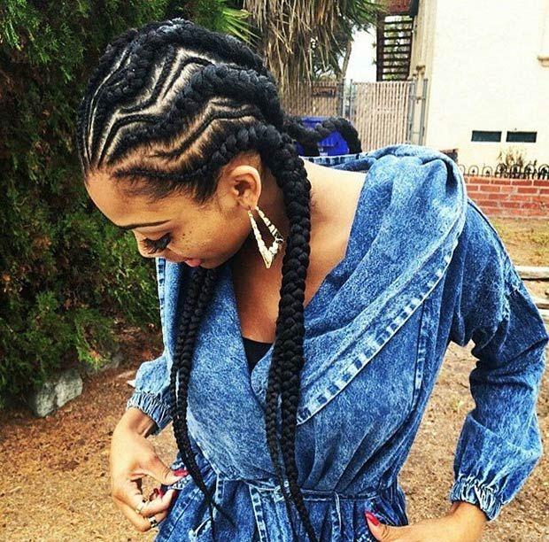 Latest Ghana Weaving hairstyleforblackwomen.net 563