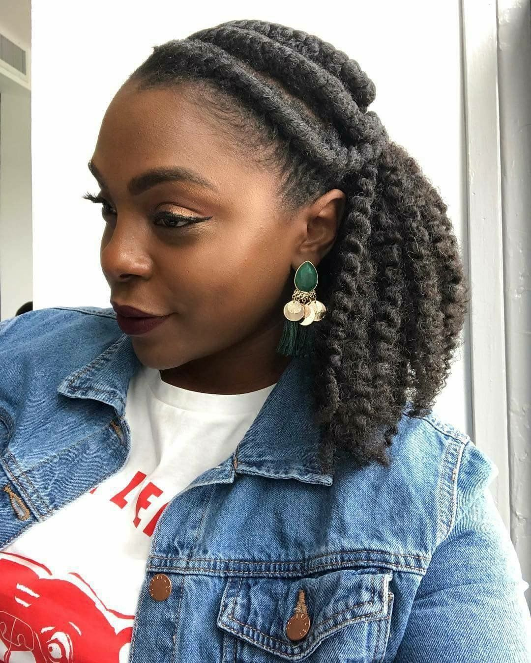 Natural black hairstyles for women hairstyleforblackwomen.net 19