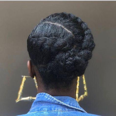 Natural black hairstyles for women hairstyleforblackwomen.net 32