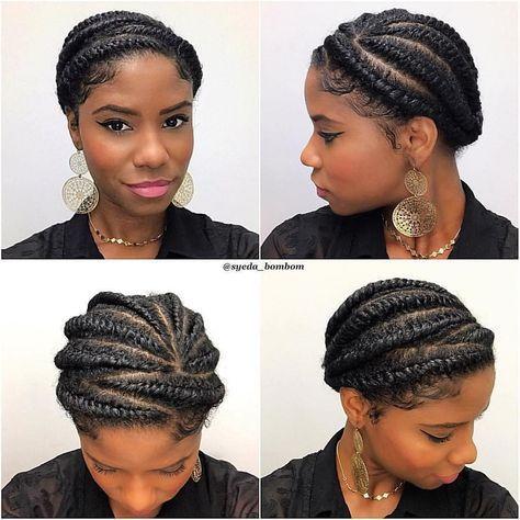Natural black hairstyles for women hairstyleforblackwomen.net 39