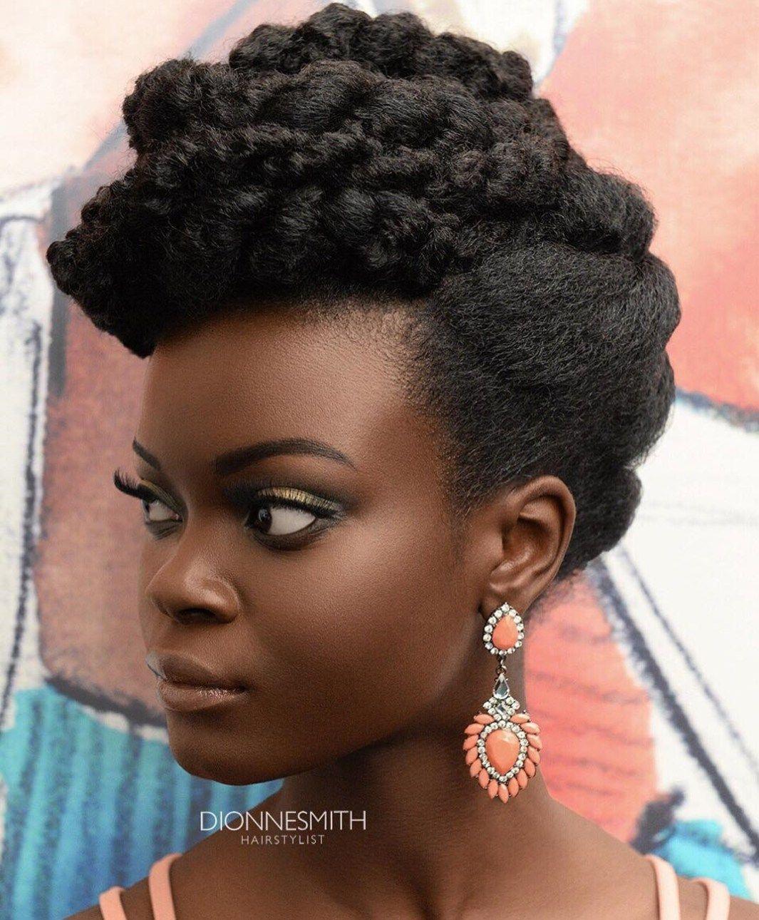 Natural black hairstyles for women hairstyleforblackwomen.net 5
