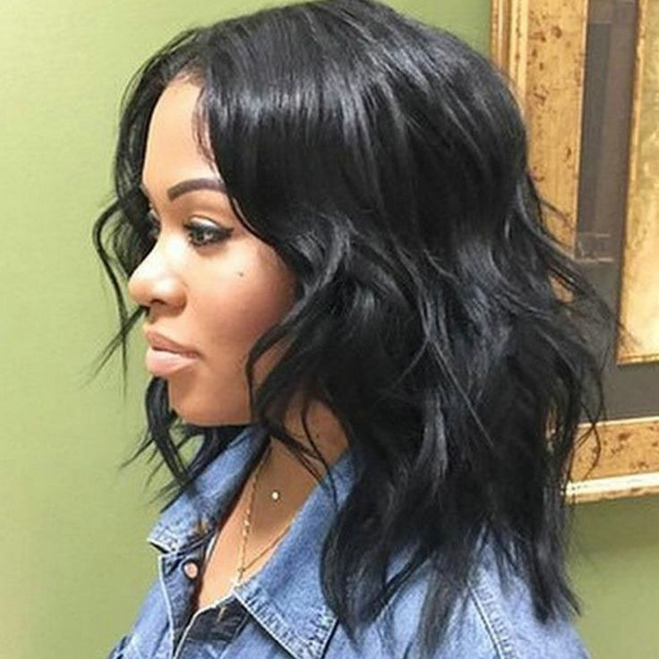 Shoulder Length Weave Hairstyles For Black Women 50 Best Medium Hairstyles For Black African American Women 2016 AfricanAmericanHairstylesforMen